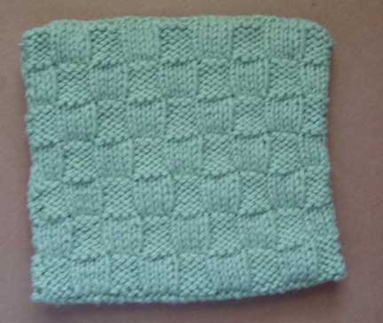 Stitch Glossary: Basketweave Stitch - Knitting - Learn to Knit