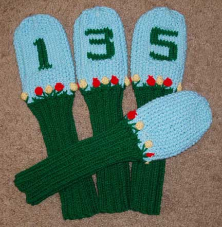 Free Knitting Pattern Golf Club Headcovers : GOLF HEAD COVER KNITTING PATTERN FREE KNITTING PATTERNS