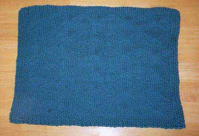 Knitted Placemat Patterns : Yahoo